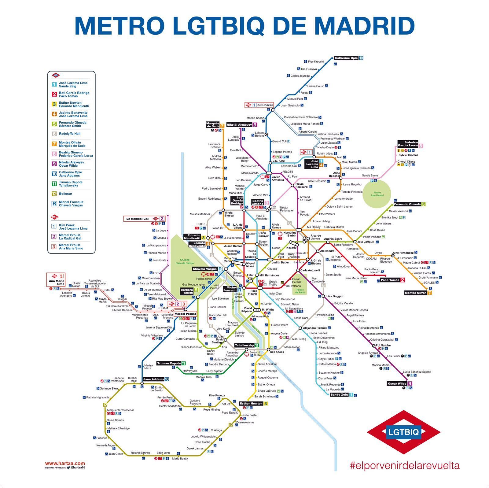 100 Metro Madrid Map | Madrid Real Distance Metro Map,Detailled ...