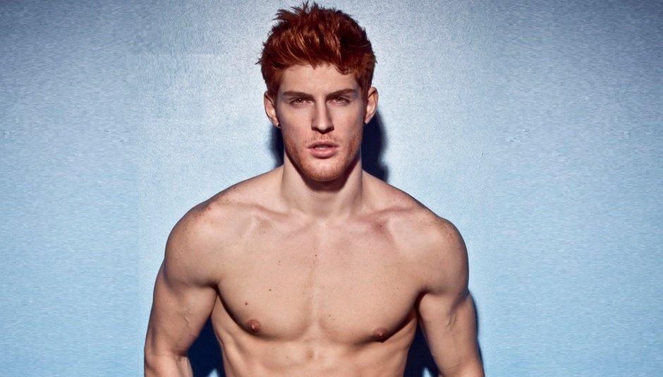 Cortes Peinados y Color: Hombres con Pelo Rojo