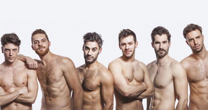 Hombres gay completamente desnudos