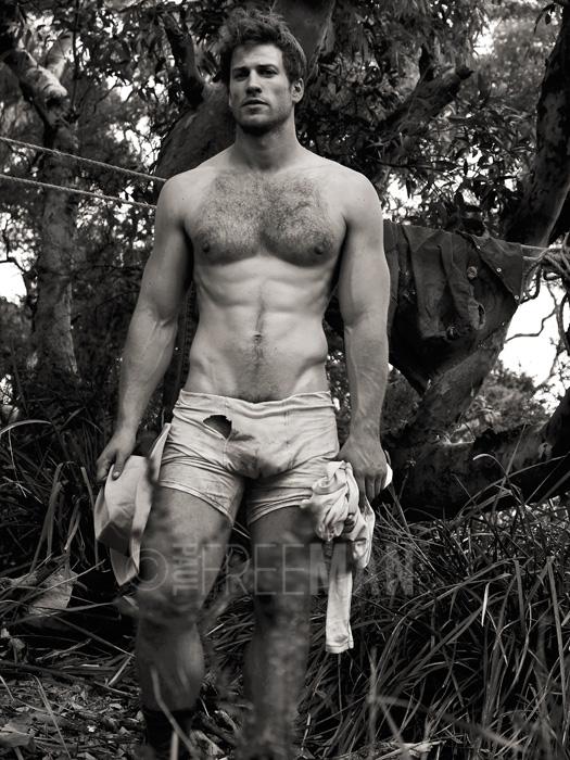 El arte del desnudo masculino tiene nombre paul freeman - Fotografia desnudo masculino ...