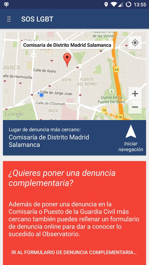 Una app para denunciar la lgtbfobia shangay for Oficina nacional de lucha contra los delitos de odio