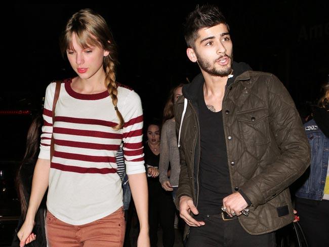 Zayn Malik y Taylor Swift oficializan relacion en ceremonias Grammy