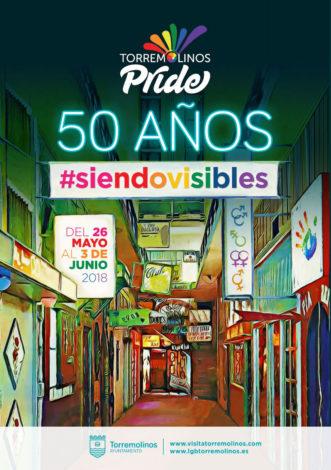 Cartel Torremolinos Pride.