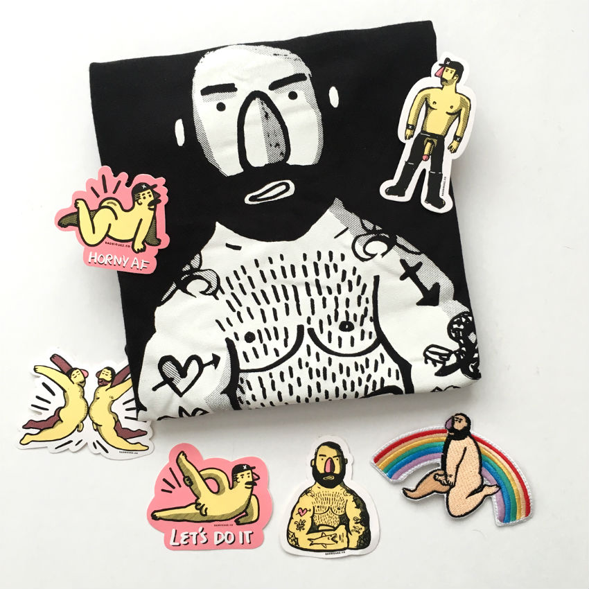 Carles Radriguez. Arte homoerótico para osos.