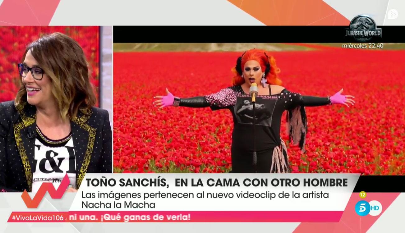 Toño Sanchís y el vídeo en el que se acuesta con un actor porno gay.