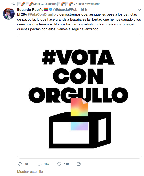 Tweet Eduardo Rubiño