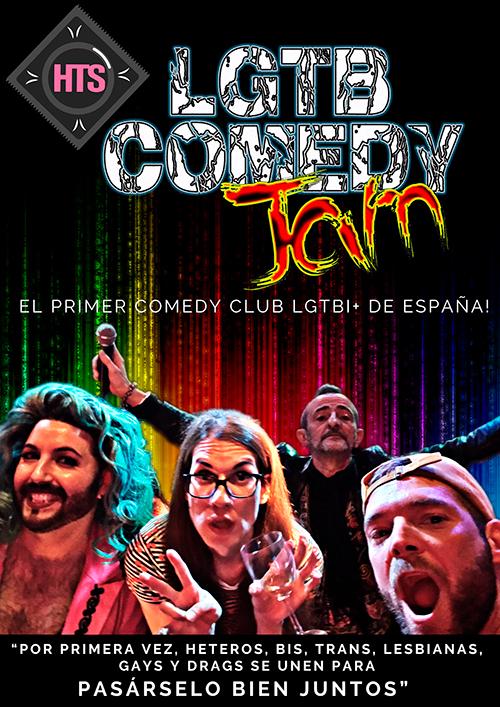 lgtb comedy jam, el clum de la comedia lgtbi de españa