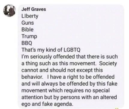 comentario de odio