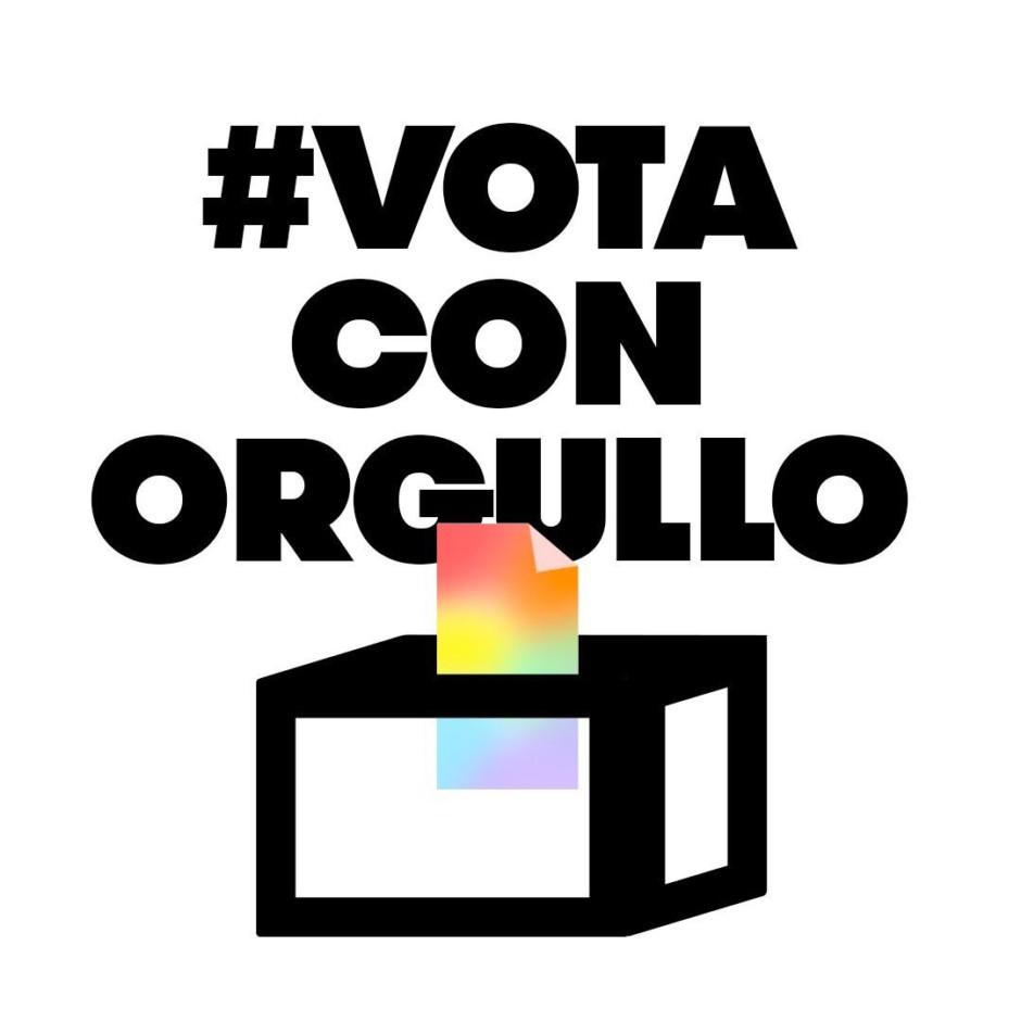 Hastag #votaconorgullo