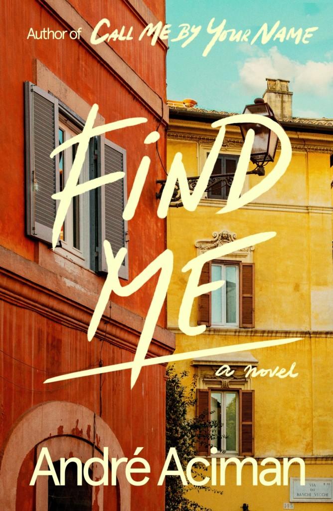 Portada 'Find me' de André Aciman