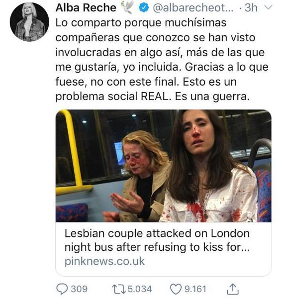 Brutal golpiza contra una pareja de mujeres en Londres