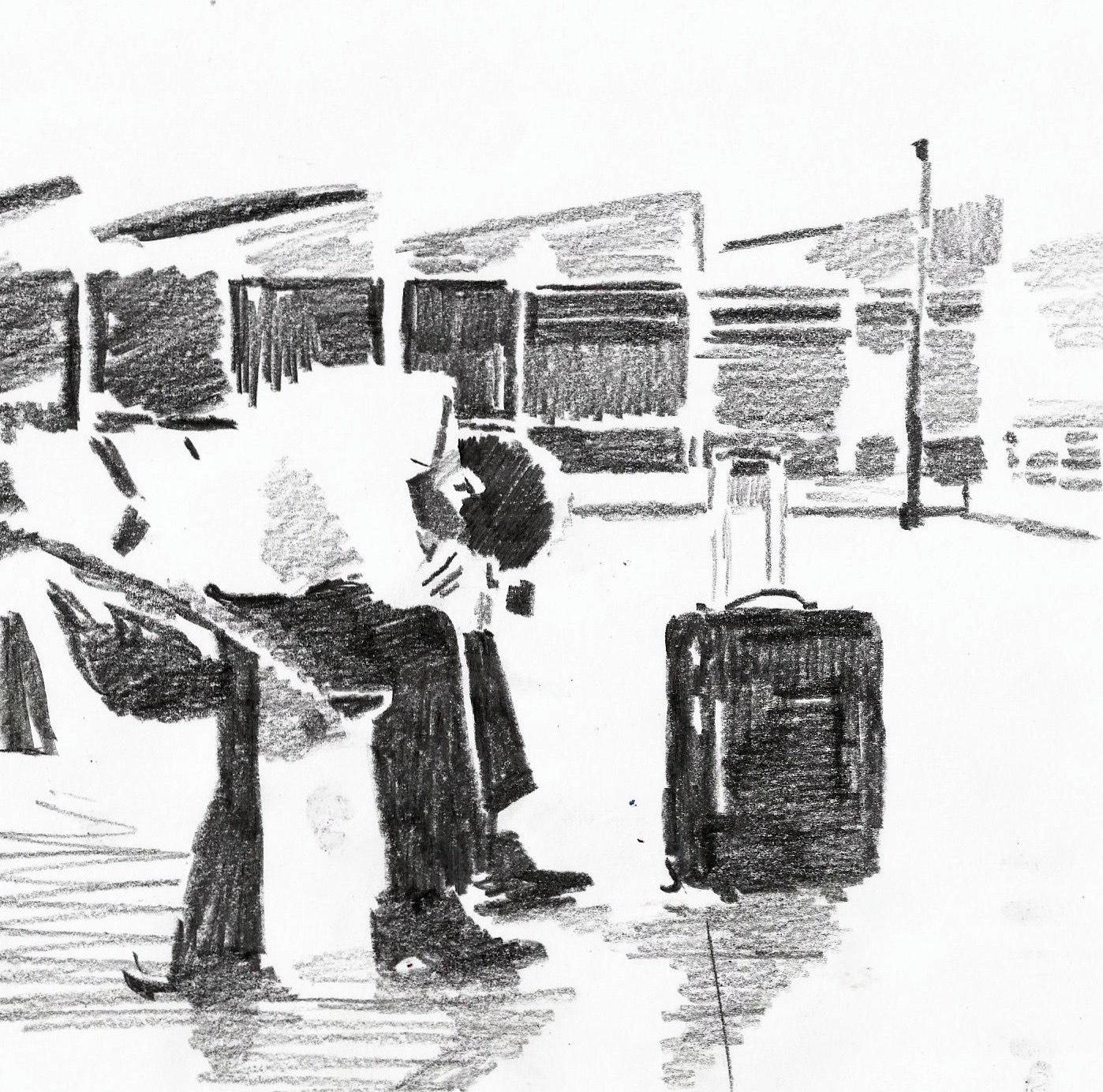 tontheridas dibujo tren